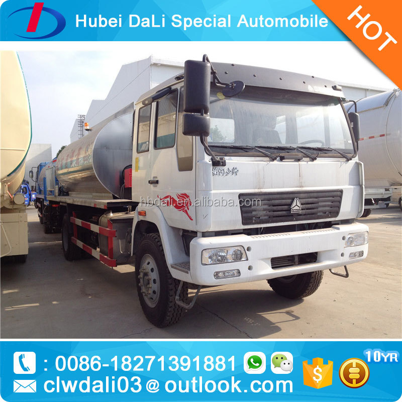 10ton asphalt distribution truck, bitumen spraying truck, 4*2 driven system