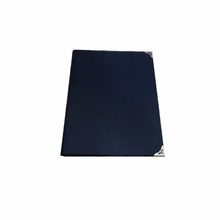 A4 Black PU leather menu holder for restaurant and hotel