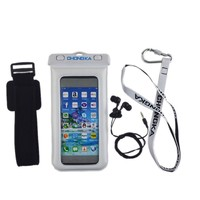 Wholesale Swimming Diving Cell Phone Waterproof Bag Case with earphone jack