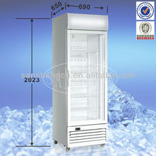 358L Upright Display Freezer