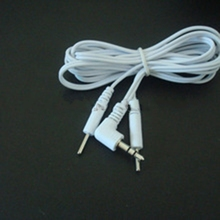 3.5mm snap electrode pad lead wire for slimming massager