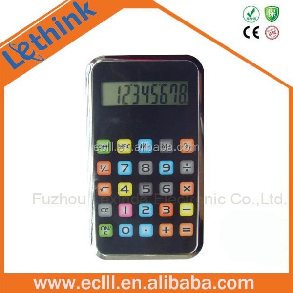 Hot selling 8 digit cell phone calculator