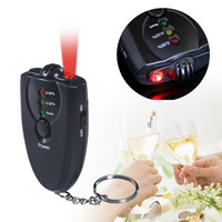 Mini size alcohol tester in led flashlight PFT-61,which can be used for driver to measure alcohol rate