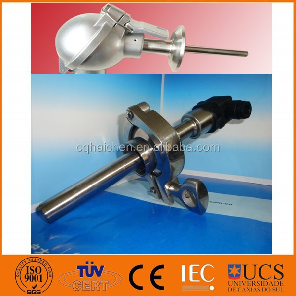 sanitary rtd temperature transmitter with 1.5NPS clamp