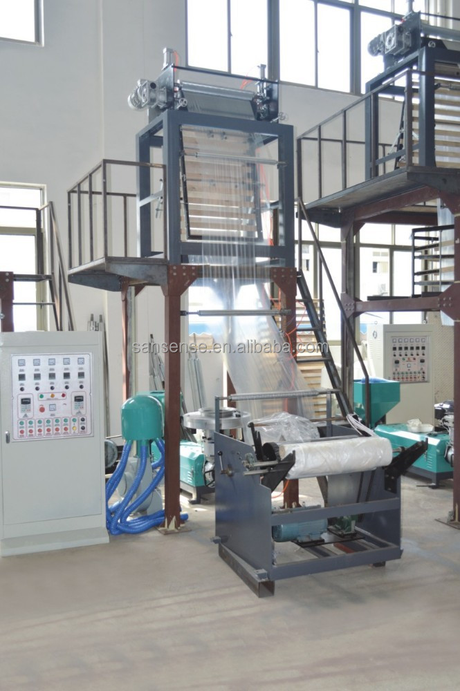 PE film blowing machine for plastic bag