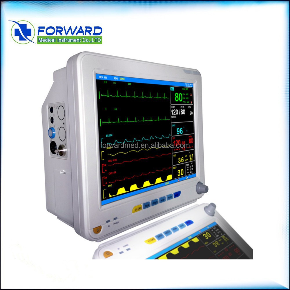 12.1'' hot product CE and FDA 6 paramters portable vital signs ICU Patient Monitor multi-parameter Patient Monitor