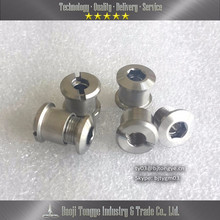 Titanium 6al4v gr5 chainring bolt and nut