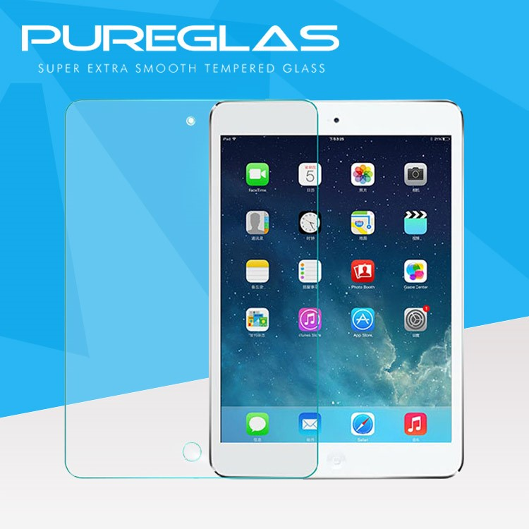 China Manufacture Full Cover Mirror Tempered Glass Screen Protector for Ipad 3