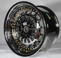 vacuum chrome OEM alloy wheel rim