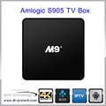 M9+ tv box Amlogic S905 android TV Box with Quad Core Smart Min Android 5.1 tv box