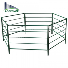 cheap steel galvanized pipe goat fence panel