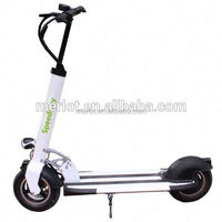 2 wheels kick dirt scooter with lithium battery 40km/h