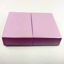 Alibaba new style design cheap double side slide open gift box