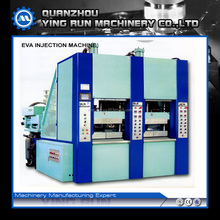 2 Station EVA injection molding machine with single color