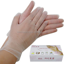 Disposable Examination Vinyl Gloves for hair salon nail salon gloves food grade, vinyl gloves