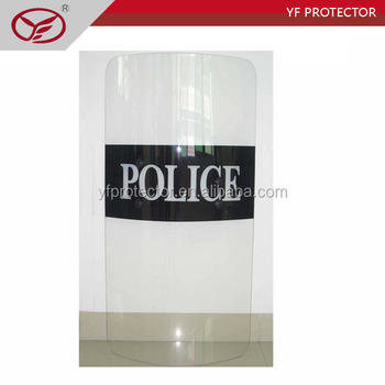 Anti Riot Shield, PolyCarbonate anti-riot shield AS01 , Police and military anti riot shield