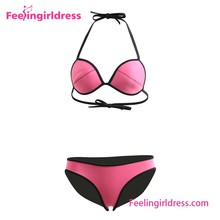 Alibaba China Manufacturer Supply Neoprene Women Swimwear 2016