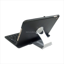EXW Factory price folding wireless Bluetooth 3.0 keypad keyboard case for tablet PC and iPad