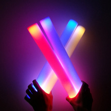 color changing light up led foam stick wand