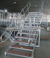 portable aluminum stairs