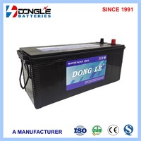 Manufacturing Powerful Long Life N120 Truck Battery