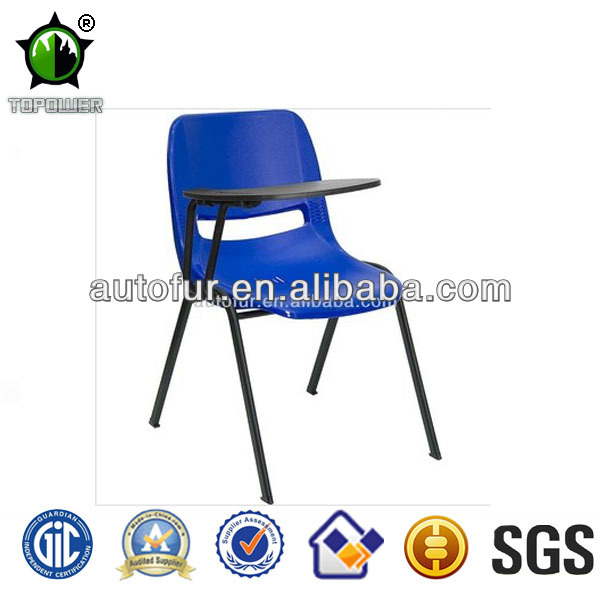 Colored Plastic Training Chairs Student Tablet Chairs Writing Chairs