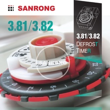 Sanrong Mechanical Adjustable Fan Delay Timer Switch for Refrigeration, Industrial Refrigerator Timer
