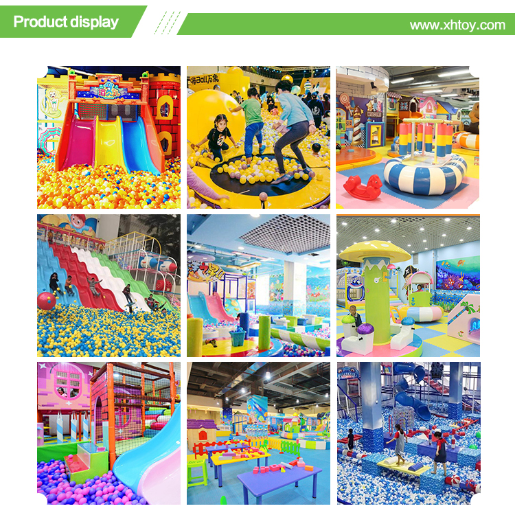 Certified castle theme park amusement indoor playground for sale