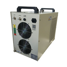 China midea small water cooled chiller unit system working