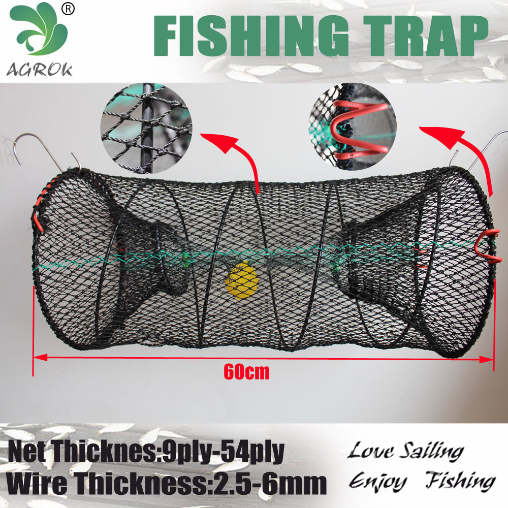 PE net plastic coated stainless steel crab/ shrimp trap /crawfish trap