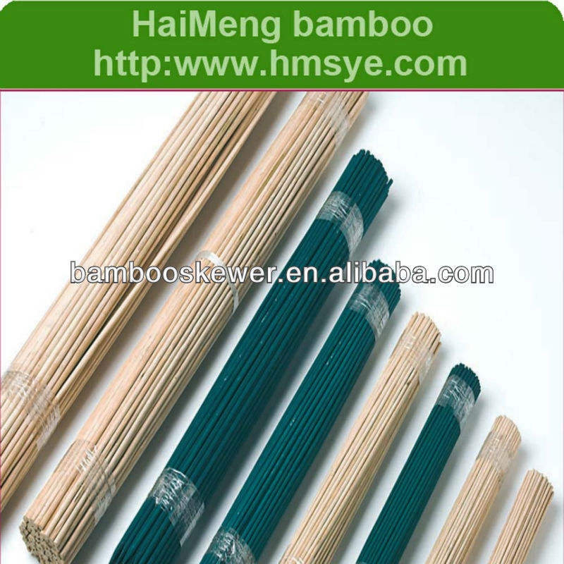 Round Supporting Bamboo Flower Sticks Plants