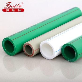 Cheap high quality tube ppr material factory supply ppr pipes and fittings price list pprc pipes and fittings