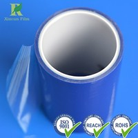 Manufacture Professional Plastic 114micron LDPE Blue Protective Film