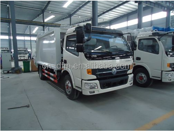 factory cheap price Dongfeng waste compactor truck for sale 6m3
