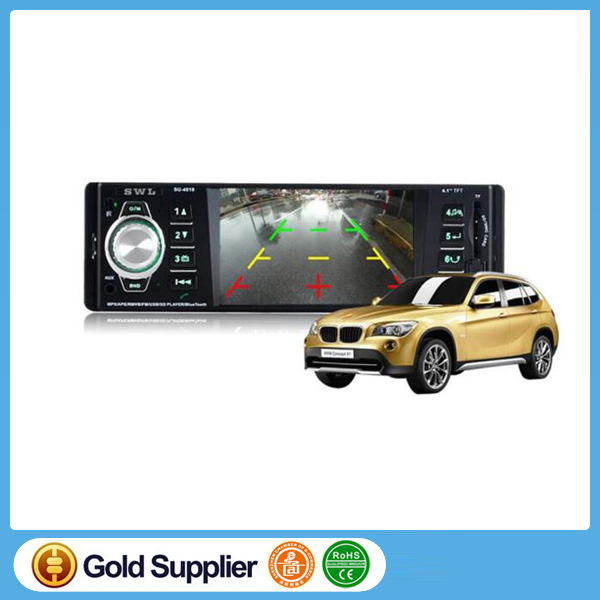 AM FM radio /rear view camera touch screen 4.1 inch car dvd player Car MP5 Player