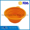 Silicone Pet Expandable / Collapsible Bowl Dog Cat Travel Feeding Food Dishes Feeder