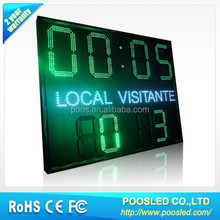 led electronic scoreboard display for sports \ led outdoor football scoreboard \ led sport scoreboard