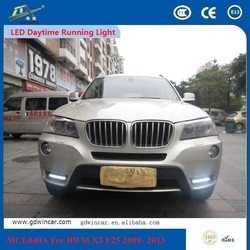 Wholesale Led Drl 12v Car Daytime Running Light Accessories For Bmw X3 F25 2009 - 2013