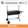 korean bbq grill table hot selling trolley charcoal barbecue grill outdoor