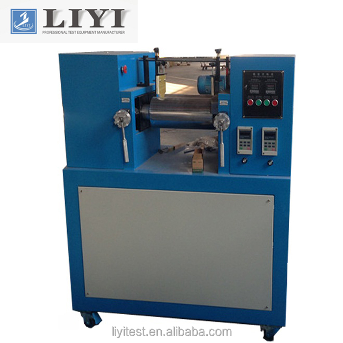 Lab Rubber Two Roll Open Mill Rubber Mixing Machine