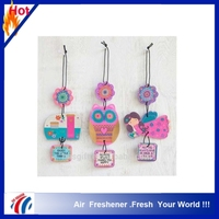 2016 new design Water-absorbing Cotton Paper Advertising Promotional Paper Air Fresheners