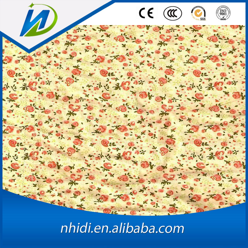 china supplier women dresses material textile cotton printed silk fabric