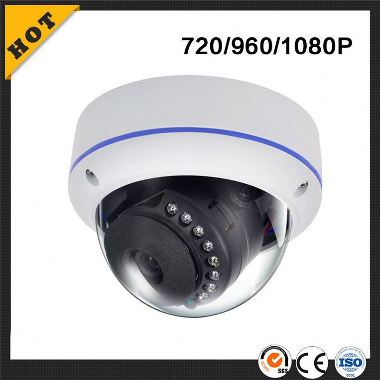 Full HD 1080P Infrared Waterproof dome 2MP IP rotating security camera outdoor