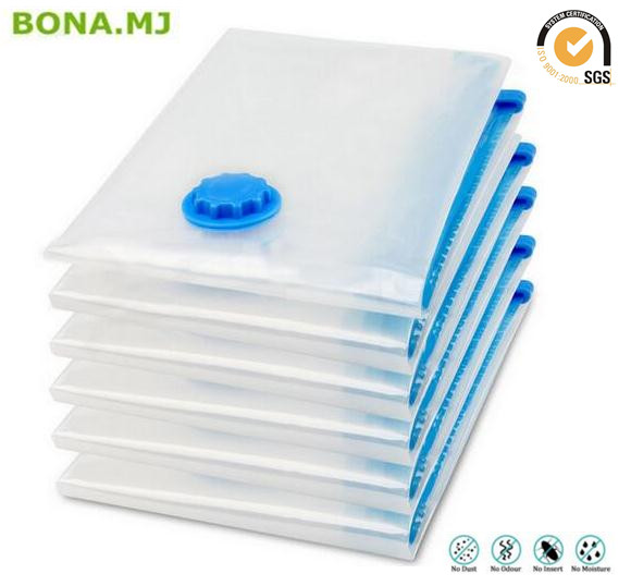 Factory Wholesale Clothes Bedding Organizer Vacuum Compressed Bags