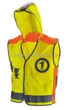 Good quality reflective kids vest waterproof kids safety vest