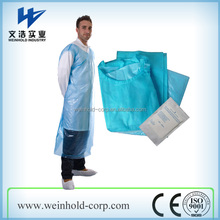 Disposable PE, CPE smock