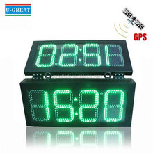 Sports timer with large stadium clock led display