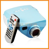 Remote Contral E03 LED Projector for iPhone 4 5 5s iPad Sopport VGA USB SD AV TV