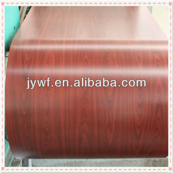 wood color coated building material coils
