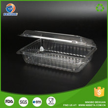 Hotel buying request restaurant equipment kitchen disposable plastic food container for fresh fruit